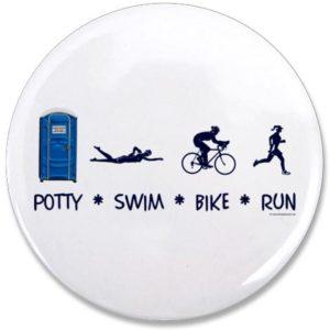 potty swim bike run