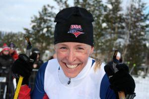 World champion Rebecca Dussault
